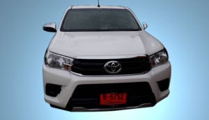 Double Cab Toyata Hilux Revo front