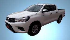 Double cab Toyota Hilux Revo - rear